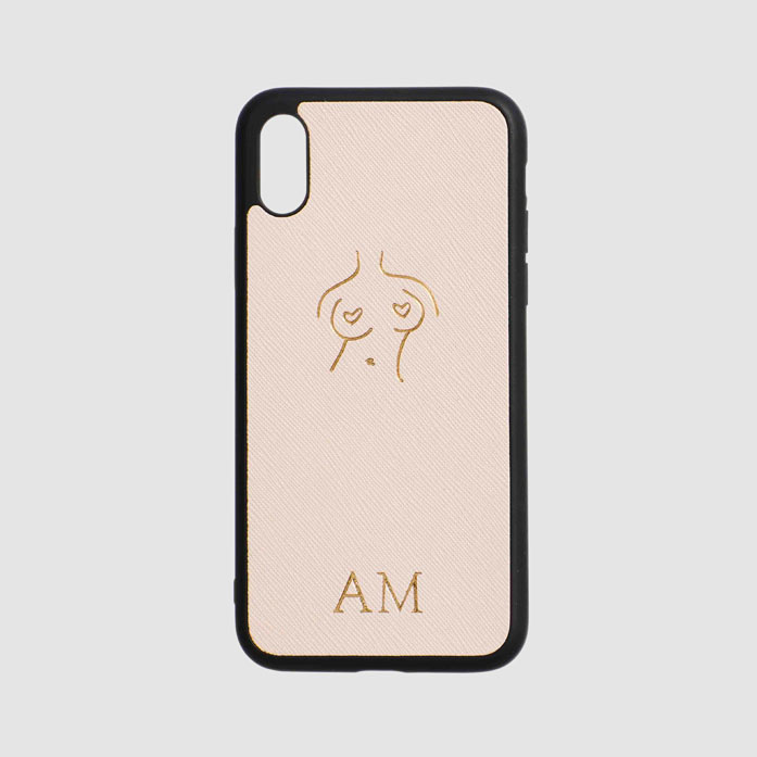 The Girls Pale Pink iPhone Case